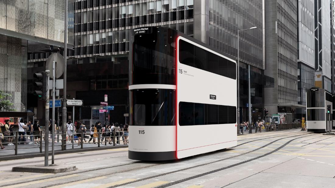 What Hong Kong's iconic trams and ferries could look like in a post-Covid world