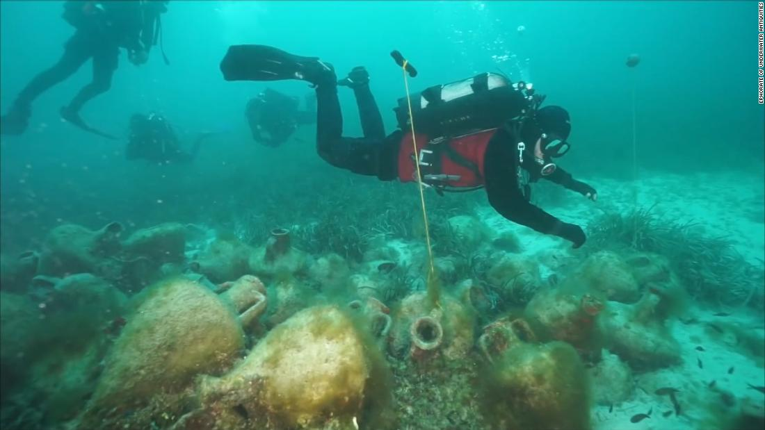 You can now explore a 2,500 year old shipwreck