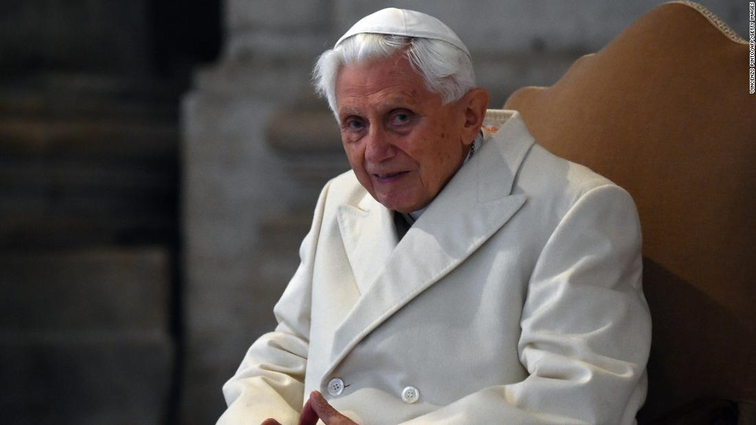 Former Pope Benedict recovering from 'painful but not serious condition'