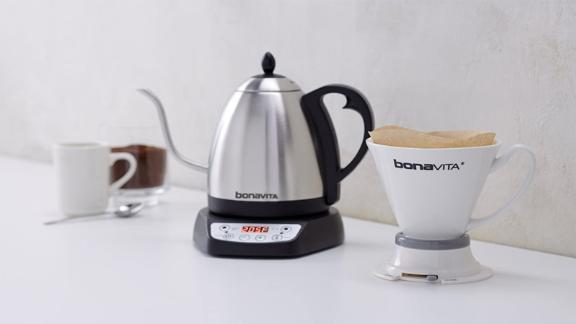 Bonavita 1-Liter Variable Temperature Electric Kettle