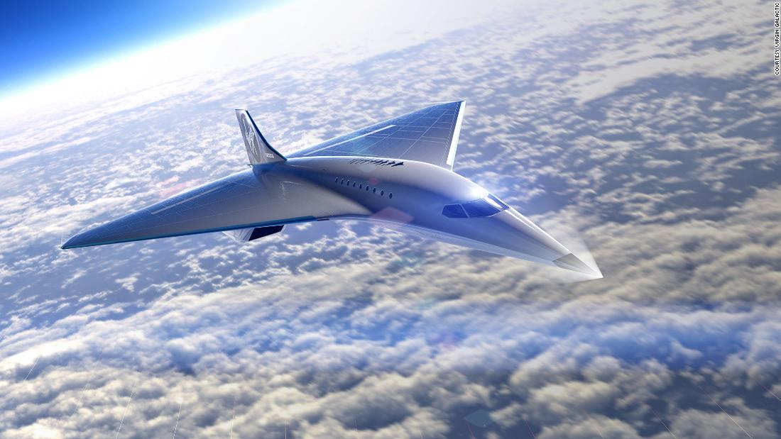 Virgin Galactic Unveils Jet Design That Travels Three Times Faster Than Sound Cnn Travel
