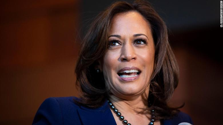 Kamala Harris makes trip to California as wildfires rage