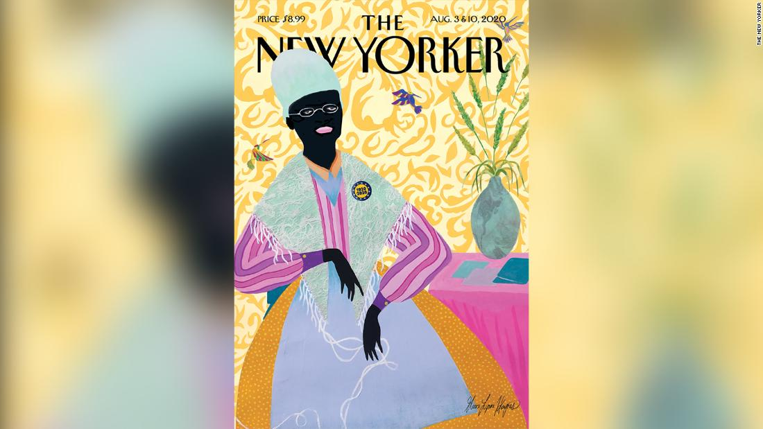 Artist tells the story behind her New Yorker cover portrait of Sojourner Truth