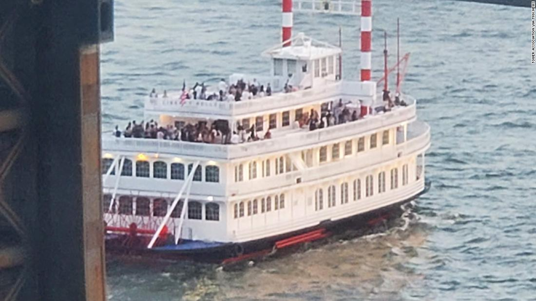 NYC party boat owners arrested after their cruise was busted with more than 170 guests on board