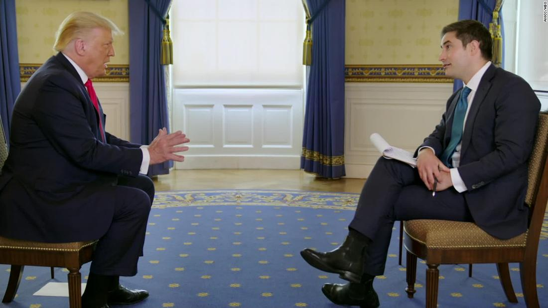 Watch President Trump's interview on Axios