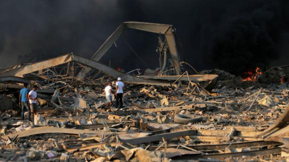 An investigation into the explosion was announced by Lebanese Prime Minister Hassan Diab.