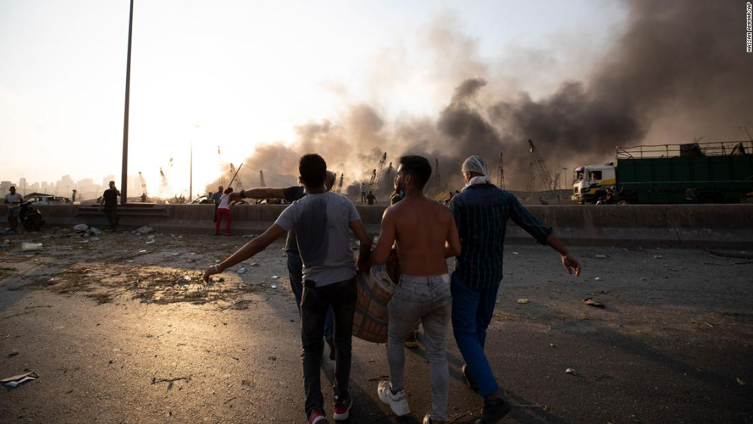 200804141204 19 beirut explosion 0804 super tease - Residents describe apocalyptic scenes after blast rocks Beirut