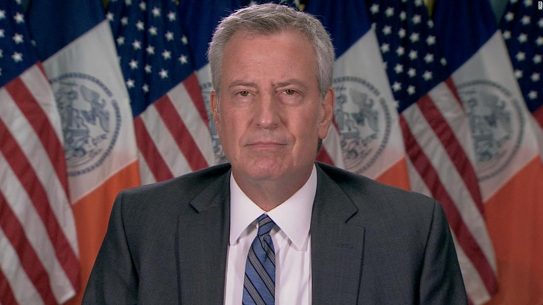 New York mayor responds to health commissioner's resignation
