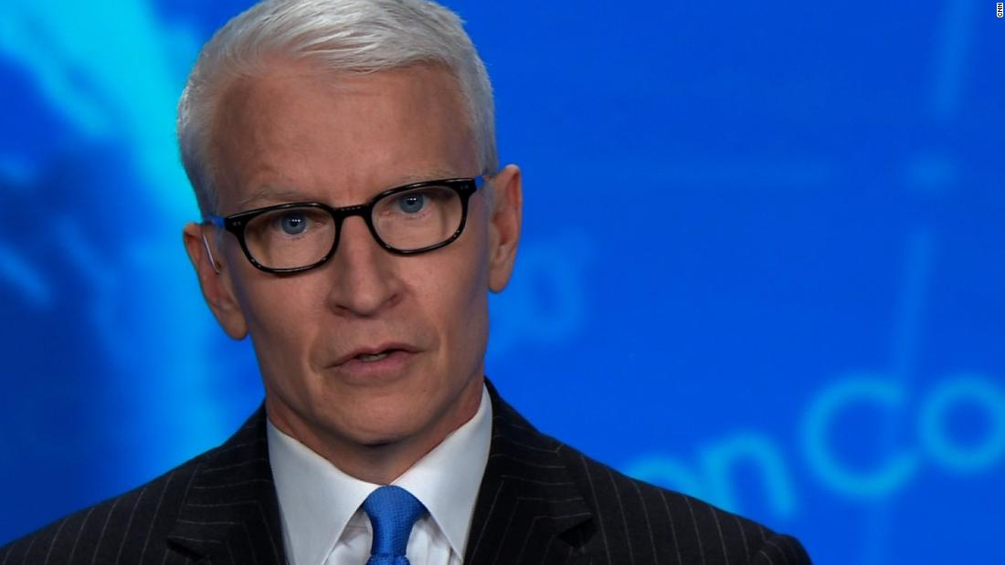 Trump's claim leaves Anderson Cooper astonished