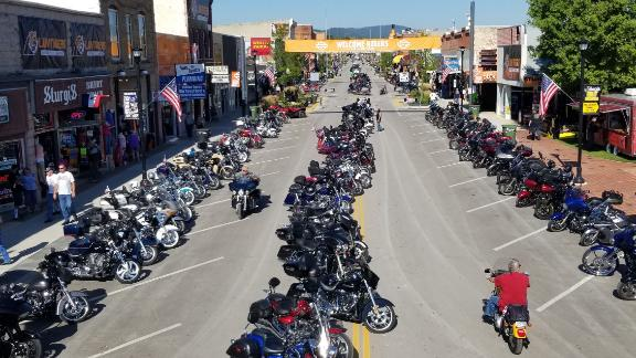 A motorcycle rally that usually attracts 500,000 attendees will take place in Stugis, South Dakota.