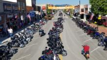 A motorcycle rally that usually attracts 500,000 attendees will take place in Sturgis, South Dakota.