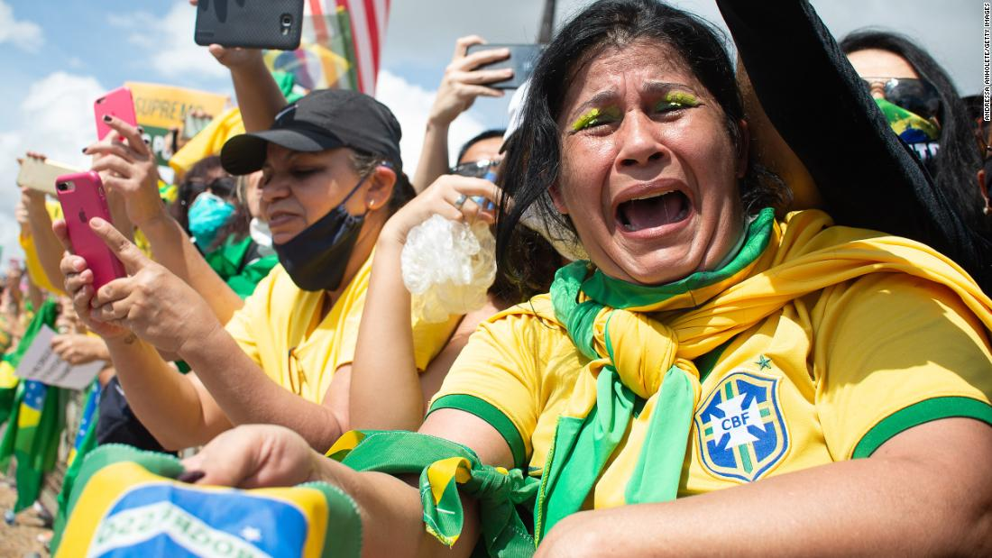 Brazil divided on iconic yellow shirts