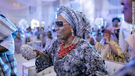 """Mojisola Odegbami got a role in """"Black Is King"""" in July 2019."""