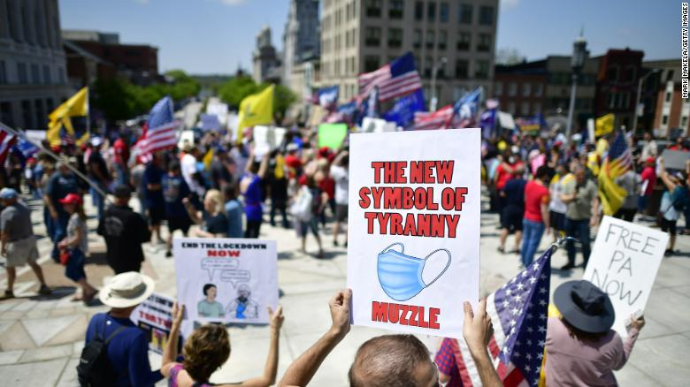 Pennsylvania plans to appeal ruling that declared bans on some large gatherings unconstitutional