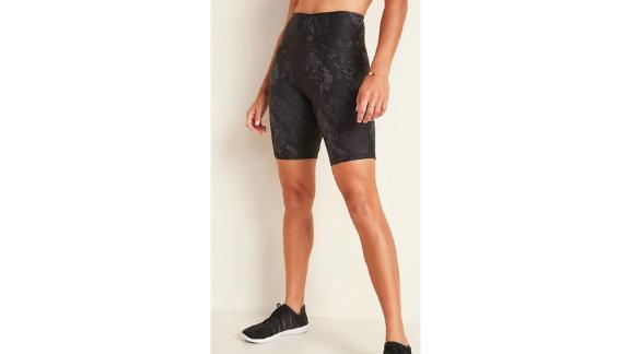 High-Waisted Powersoft Side-Pocket Bermuda Shorts for Women