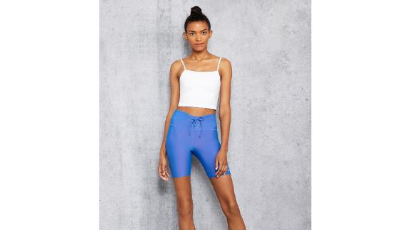 High-Waist Iridescent Short