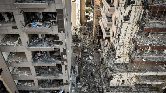 """Beirut was declared a """"disaster city"""" by authorities on Wednesday."""