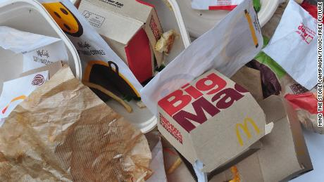 """Wrappers tested by Mind the Store campaign/Toxic-Free Future for their report """"Packaged in Pollution: Are food chains using PFAS in packaging?"""
