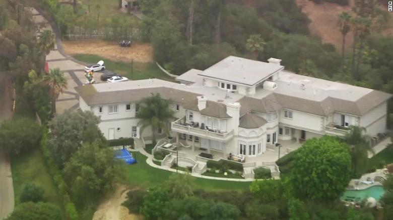 The FBI searched the mansion of YouTube celebrity Jake Paul in the Los Angeles area.