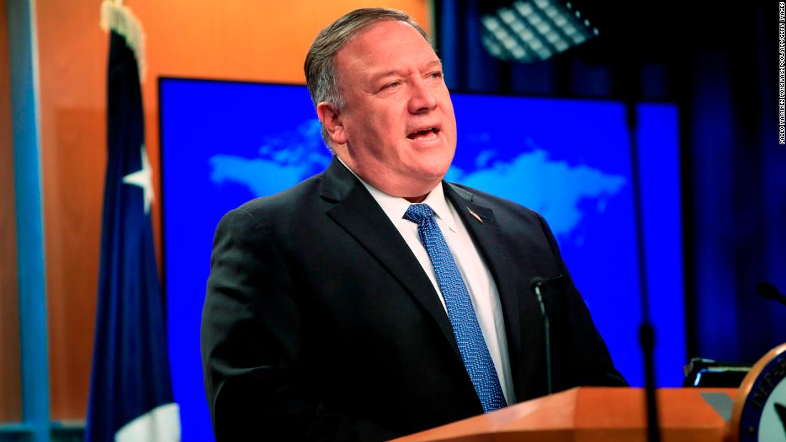 Pompeo: 'Untrusted' Chinese apps should be removed from US app stores