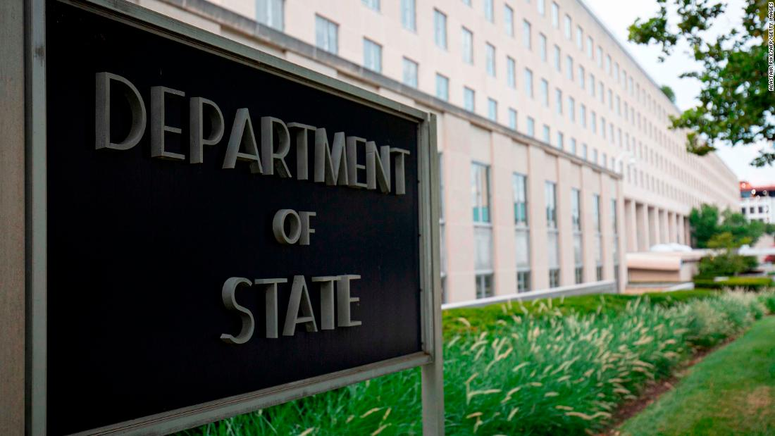 Swastika found carved into elevator at US State Department