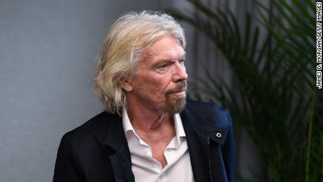 Sir Richard Branson waits to address an audience during the launch of The B Team Australasia on October 11, 2018 in Sydney, Australia. The B Team Australasia is a regional platform that hopes to enable business leaders across Australia, New Zealand and the broader Asia-Pacific region to drive progress and influence regional business leadership and address critical issues affecting our world.  (Photo by James D. Morgan/Getty Images)