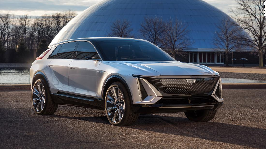 Gm Says Its Moving Faster And Further In Electric Vehicles Cnn