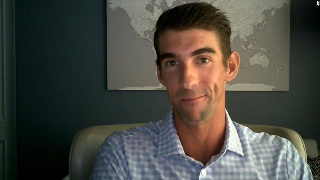 Michael Phelps: It's OK not to feel OK during a pandemic