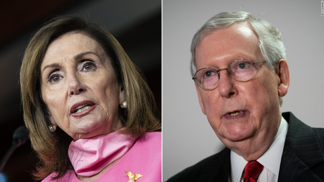 Pelosi says stimulus talks are complicated by 'complete disarray on the Republican side' – CNN