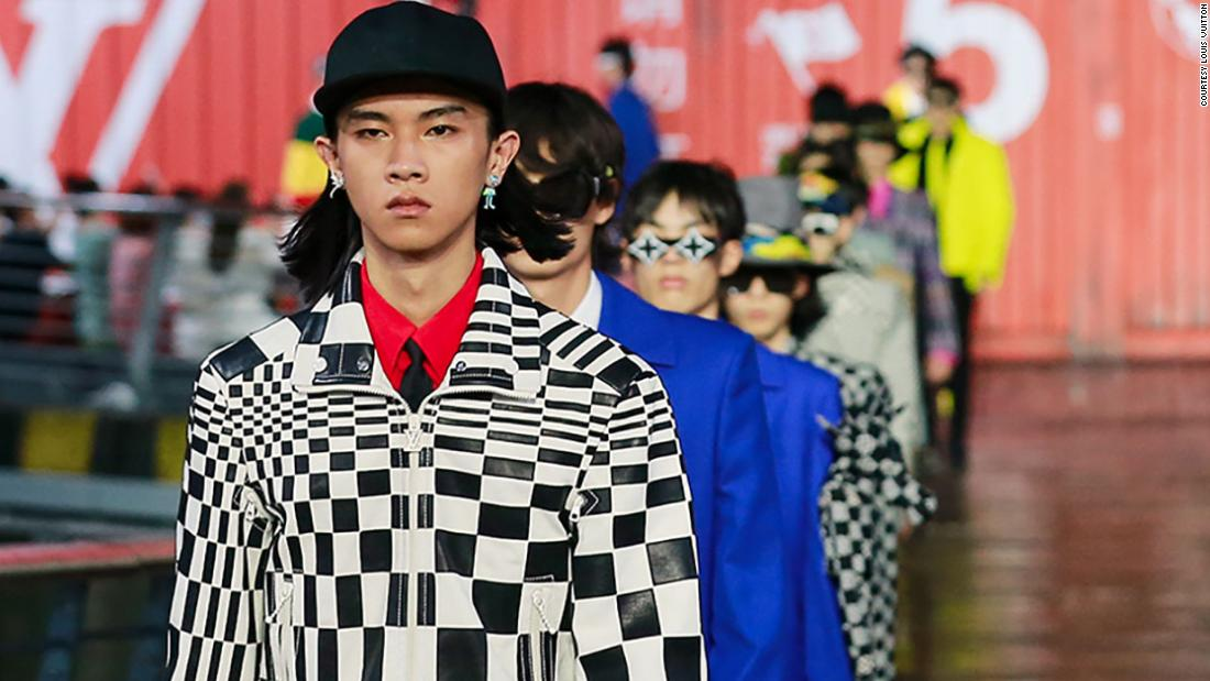 Louis Vuitton heralds the return of the physical fashion show -- in China