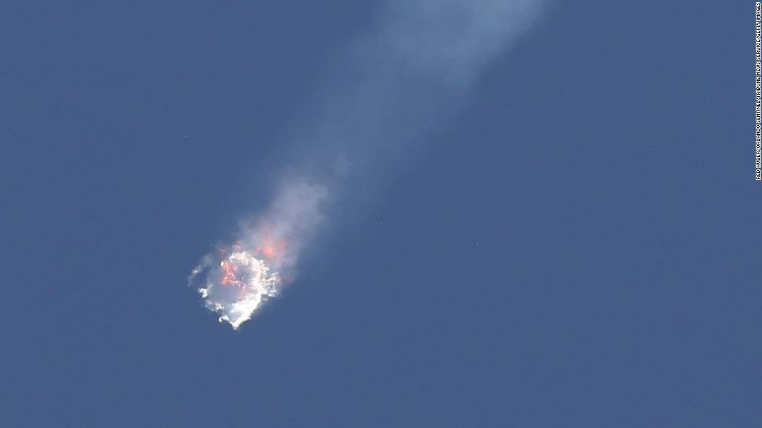 SpaceX Falcon 9 rocket on its seventh official Commercial Resupply (CRS) mission to the orbiting International Space Station exploded on Sunday, June 28, 2015, after launching from Launch Complex 40 at the Cape Canaveral Air Force Station in Florida.