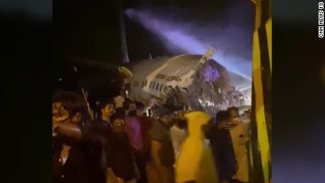 Air India plane crashes in Kerala after slipping off the runway