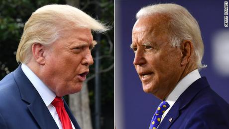 Cnn Poll Biden And Trump Matchup Tightens As Enthusiasm Hits New High Cnnpolitics