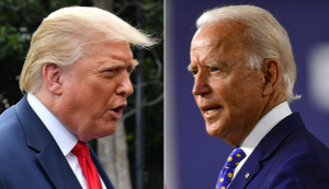 Trump retweets Russian propaganda about Biden that US intel agencies say is intended to influence 2020 election