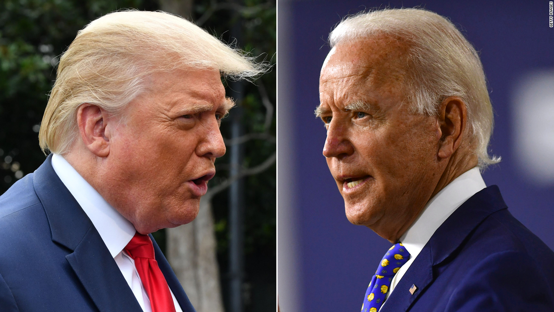 CNN Poll: Biden and Trump matchup tightens as enthusiasm hits new high