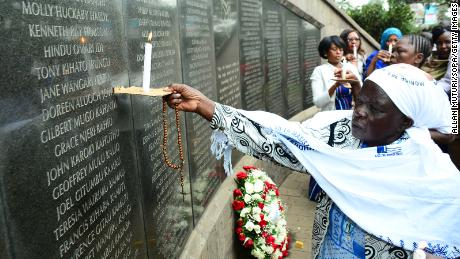 East African US embassy bombing survivors and families urge Congress to approve settlement