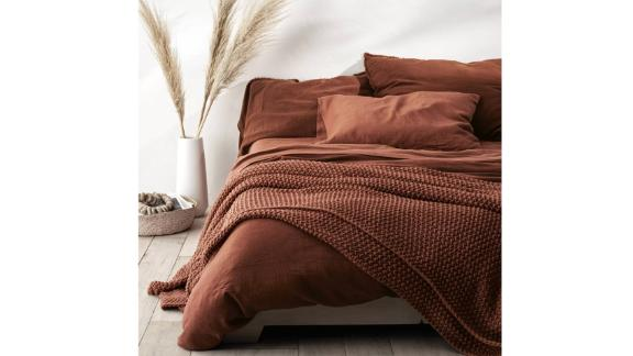 Casaluna Chunky Knit Bed Blanket