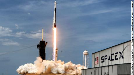 On May 30, 2020, the SpaceX Falcon 9 Crew Dragon capsule lifts off from Kennedy Space Center, Fla. On Saturday, June 13, 2020, SpaceX launched yet another batch of Starlink satellites, continuing the companys mission to build a constellation of satellites that can deliver high-speed internet to the entire planet.