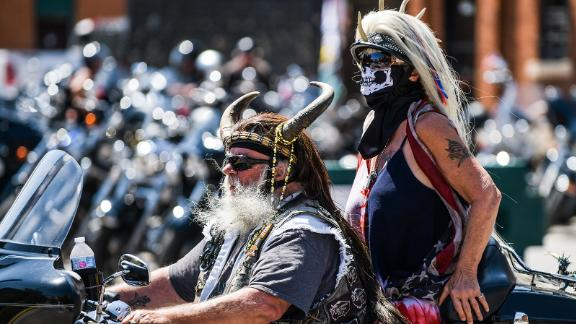 The 80th Annual Sturgis Motorcycle Rally.