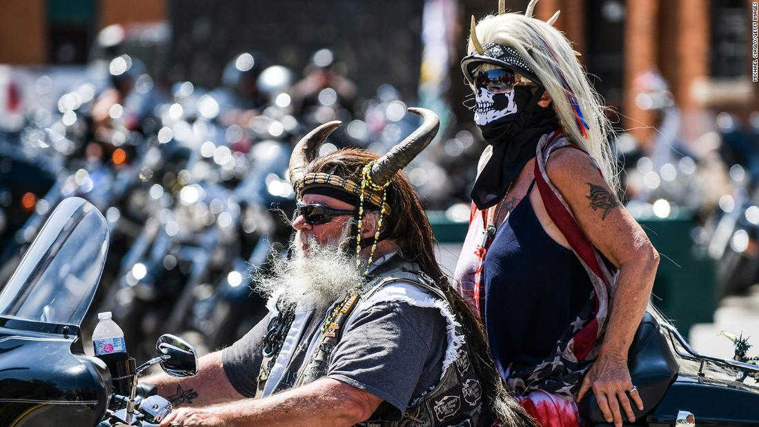 Riders begin to gather in South Dakota for 80th Sturgis Motorcycle Rally - CNN