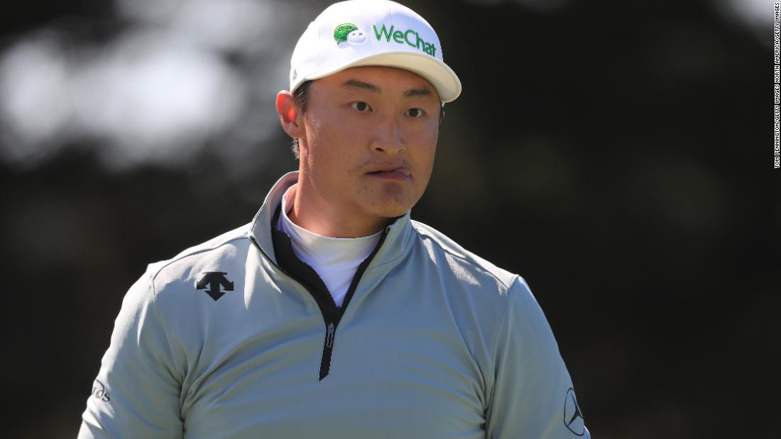 Haotong Li 'taken aback' to be main golf primary and brought aback by questions on President Trump - CNN Global thumbnail