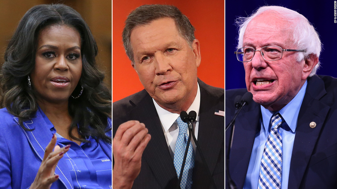 Michelle Obama and Bernie Sanders expected to speak on first night of Democratic convention
