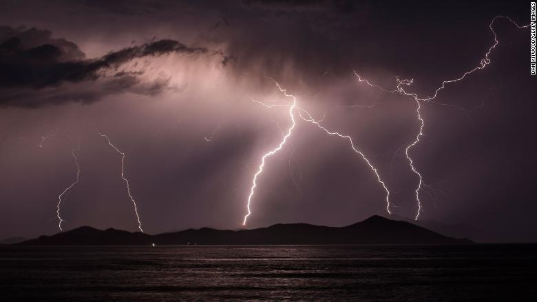 As the Arctic warms, lightning strikes are more frequent — even near the North Pole