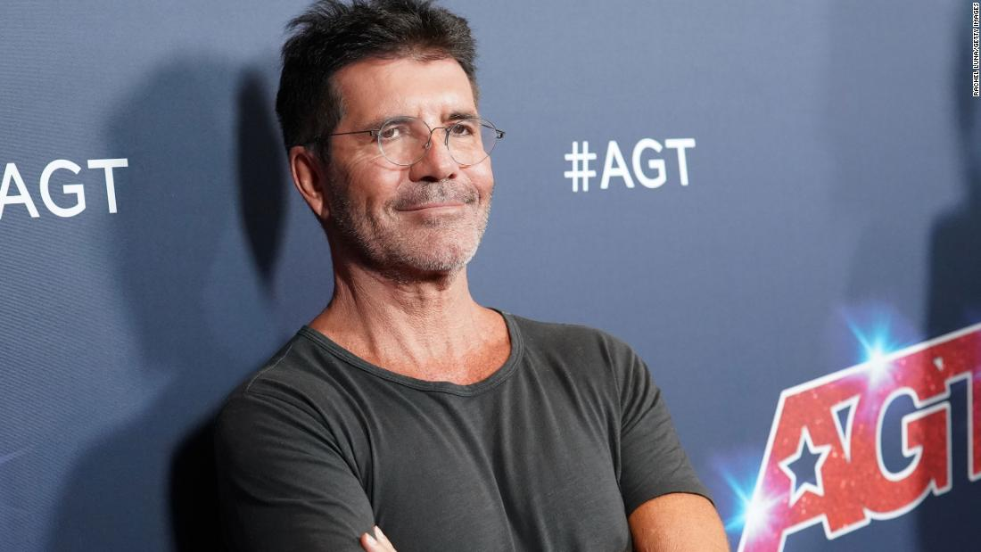 Simon Cowell Broke His Back Falling Off An Electric Bicycle Cnn