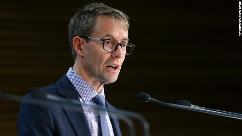 Director-General of Health Dr Ashley Bloomfield speaks to media on August 06, 2020 in Wellington, New Zealand.