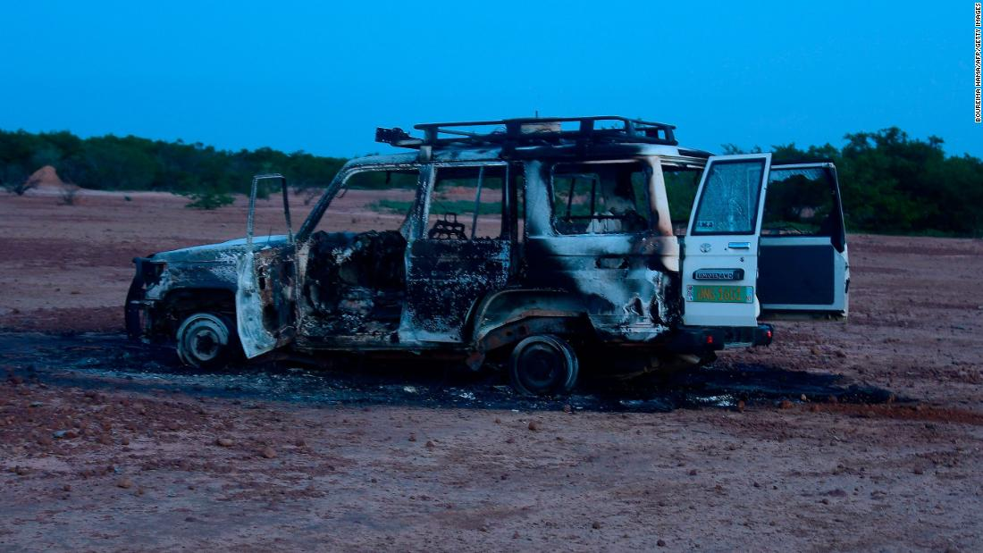 8 people including French aid workers killed in an armed attack in Niger – CNN