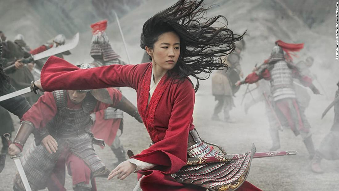 'Mulan' has a lackluster box office debut in China
