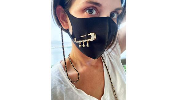 Idreamofjewelsonetsy Face Mask Classic Chain Link Lanyard