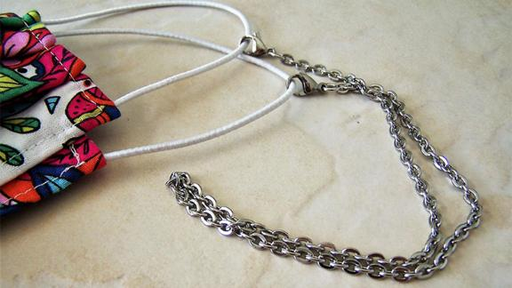 Eyewearglamour Stainless Steel Chain Mask Holder
