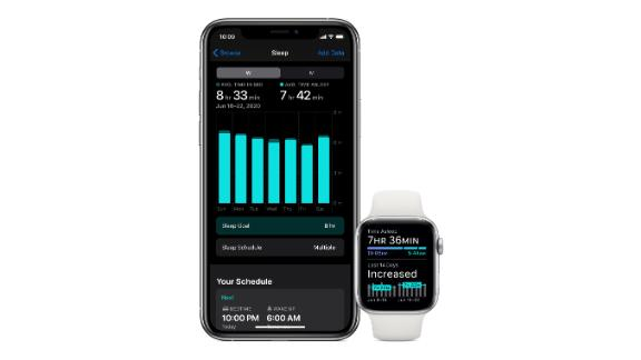 Track your sleep with watchOS 7
